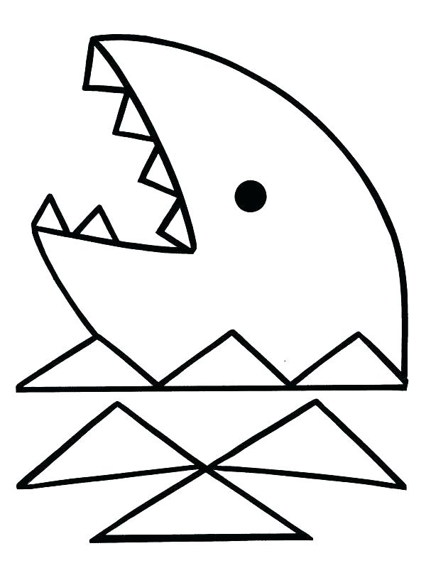 607x800 Basic Coloring Pages Coloring Pages Shapes Shape Coloring Sheets