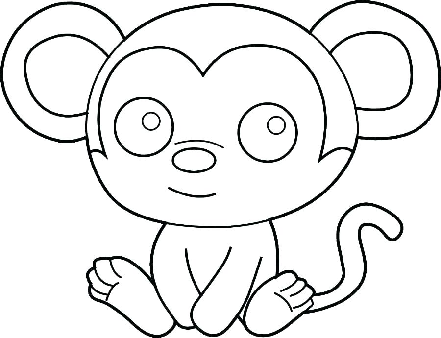 900x690 Simple Coloring Pages For Preschoolers Simple Coloring Page This