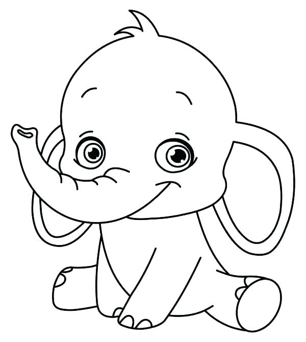 600x670 Simple Coloring Pages Of Animals Landscape Color Pages Free Winter