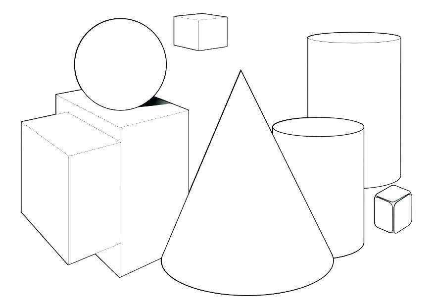 875x620 Mesmerizing Basic Shapes Coloring Pages Mesmerizing Basic Shapes