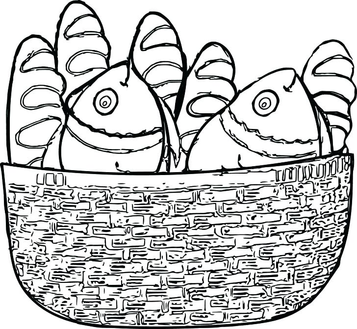 728x671 Apple Basket Coloring Page Picnic Basket Coloring Page Family