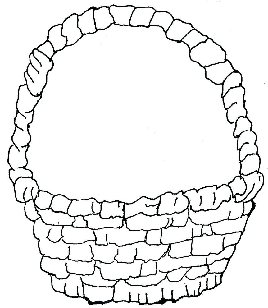 863x991 Awesome Empty Fruit Basket Coloring Pages Collection Printable