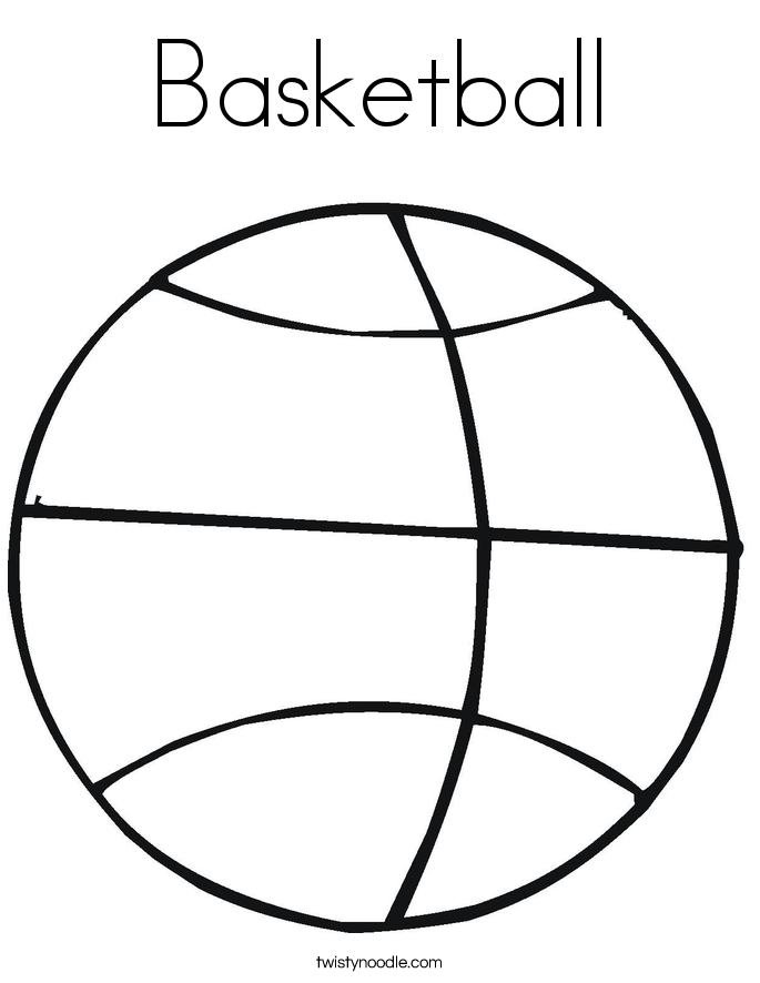 685x886 Basketball Coloring Pages
