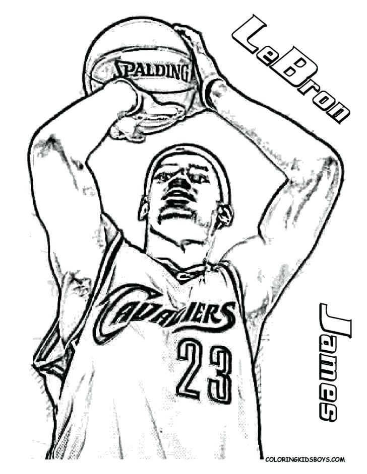 728x942 Basketball Player Printable Coloring Pages Kids Coloring