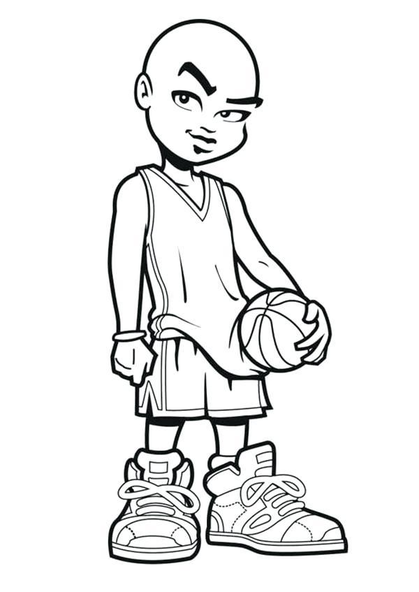 600x847 Nba Basketball Para Colorear Coloring Pages Printable Coloring
