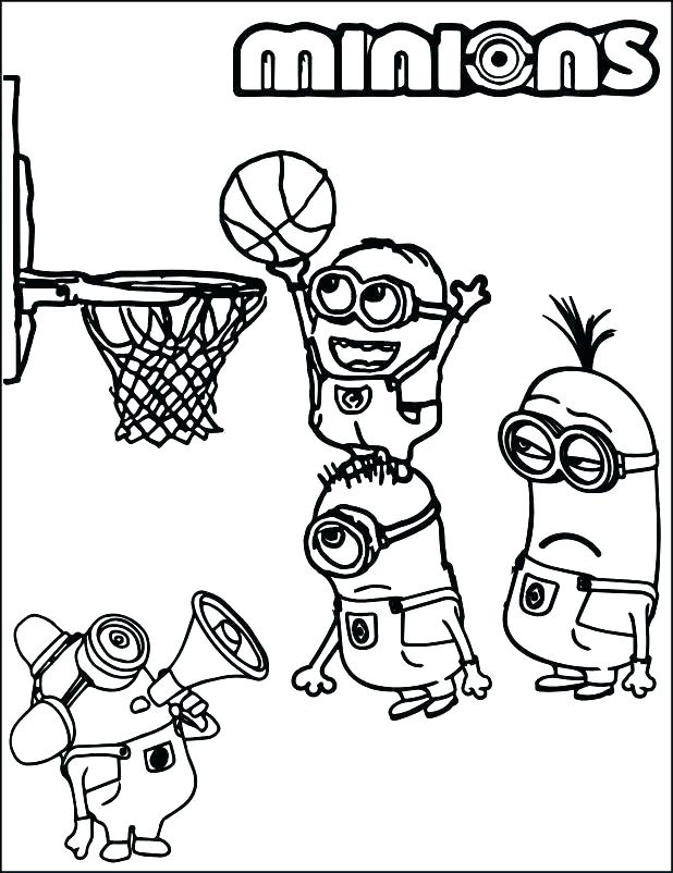 618x802 Alluring Basketball Coloring Pages For Kids Preschool In Tiny