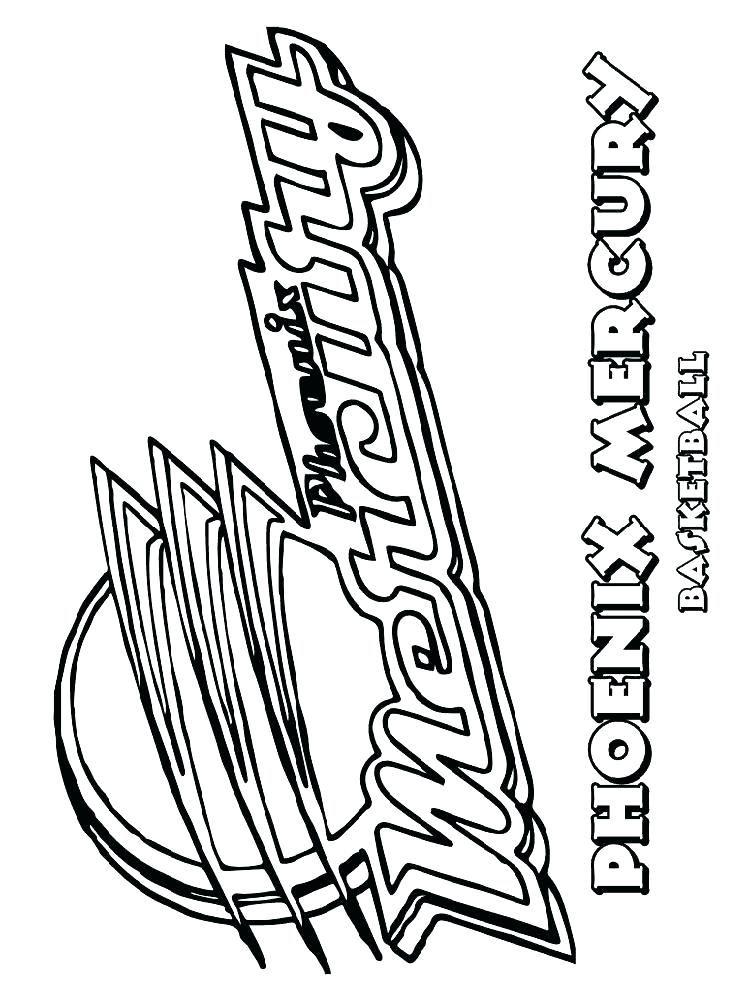 750x1000 Coloring Pages Nba Basketball Coloring Pages Team Coloring Pages