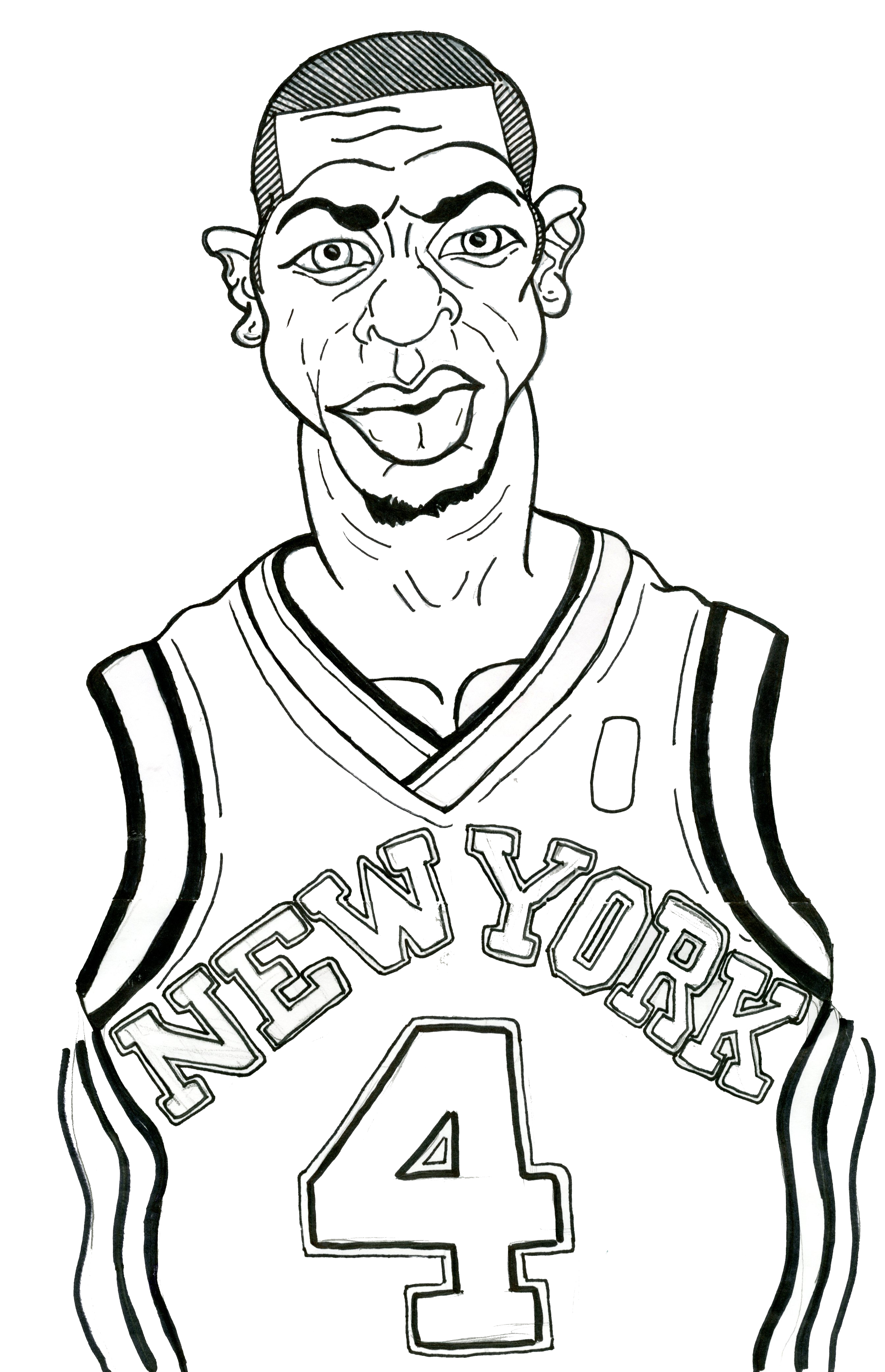 2688x4166 Fresh Nba Players Coloring Pages