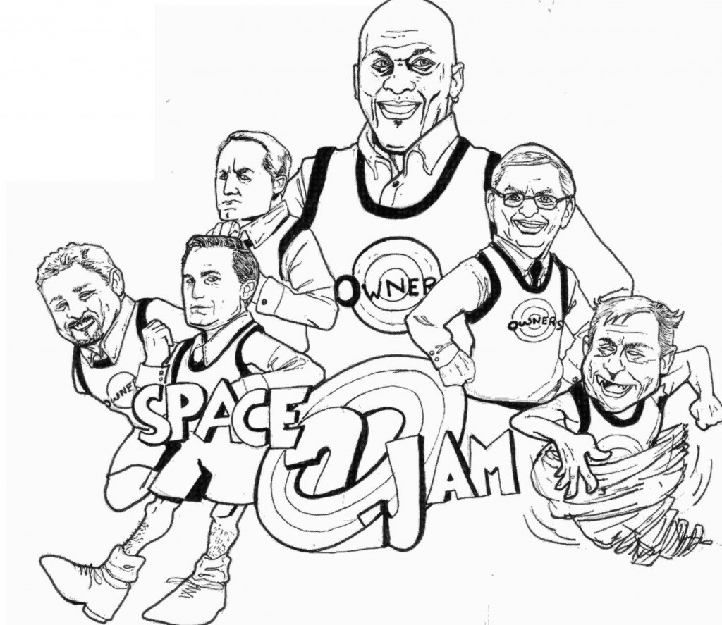1024x887 Nba Coloring Pages