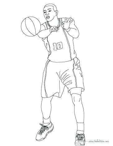 364x470 Nba Players Coloring Pages Basketball Players Coloring Pages