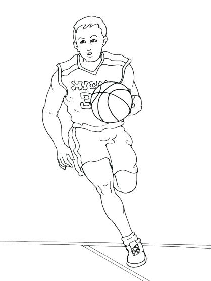 418x557 Nba Players Coloring Pages Coloring Book As Well As Coloring Pages