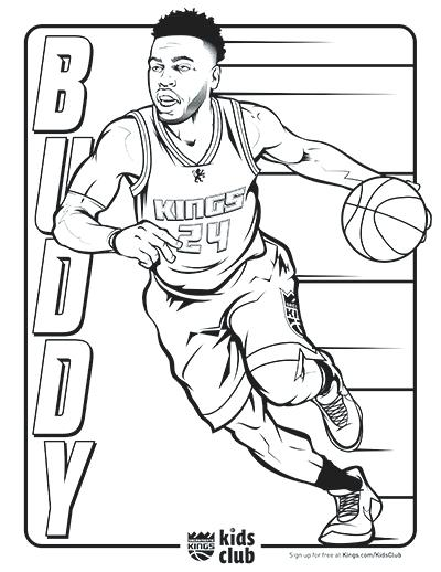400x518 Nba Players Coloring Pages Download Image Famous Basketball