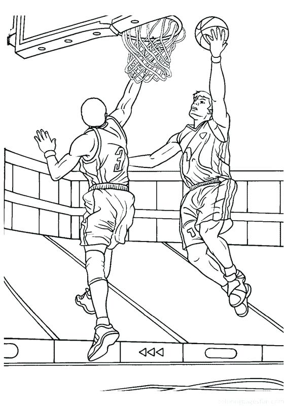 566x800 Nba Players Coloring Pages Players Coloring Pages Basketball