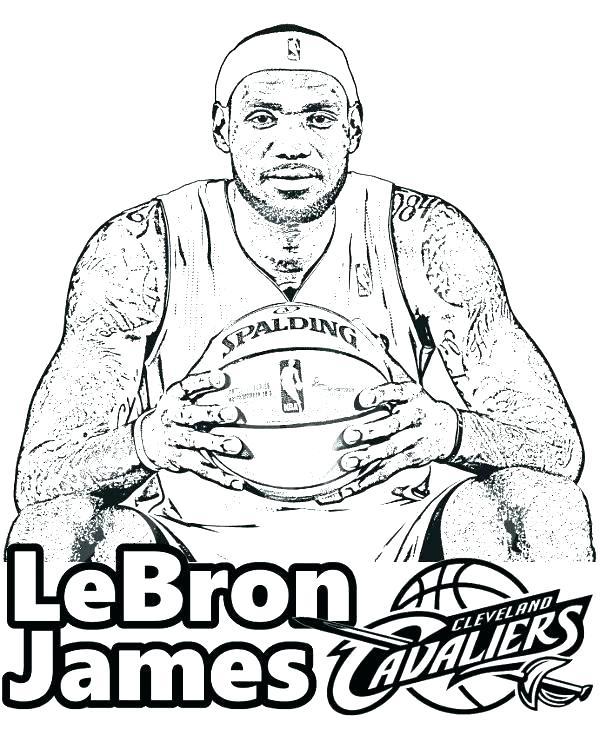 600x740 Nba Basketball Coloring Pages Coloring Sheets Basketball Player
