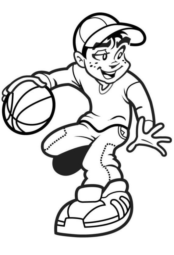 571x837 Top Free Printable Basketball Coloring Pages Online