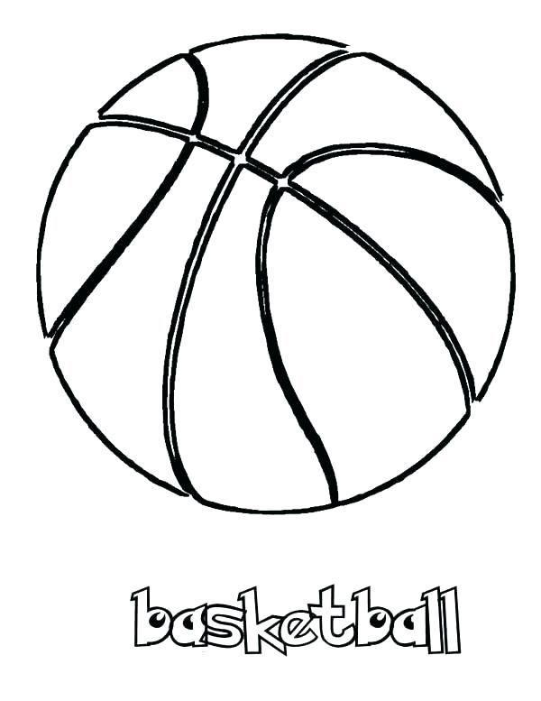 600x777 Basketball Color Page Free Coloring Pages Printable Sheets Pdf
