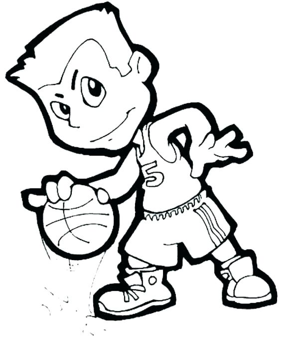 618x689 Basketball Coloring Page Basketball Coloring Page Players Coloring