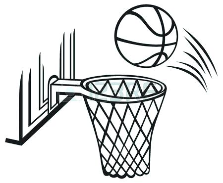 450x370 Basketball Court Coloring Page Basketball Court Coloring Page