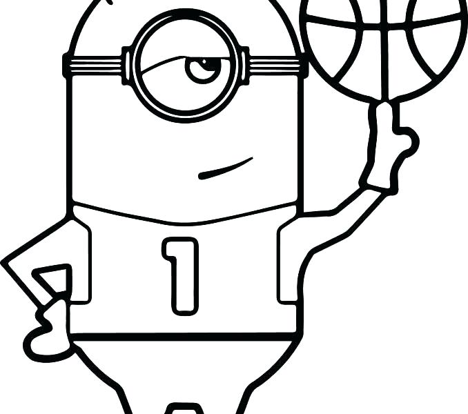 678x600 Basketball Court Coloring Page Coloring Pages Of Basketball