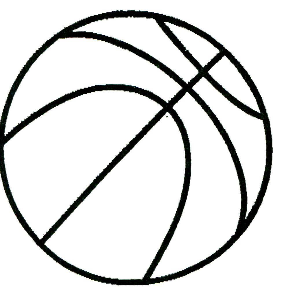975x996 Best Printable Basketball Drawing Fun Cricut Template For Court
