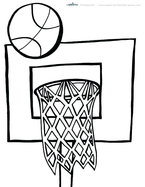 600x777 Nba Basketball Coloring Pages Basketball Coloring Page Basketball