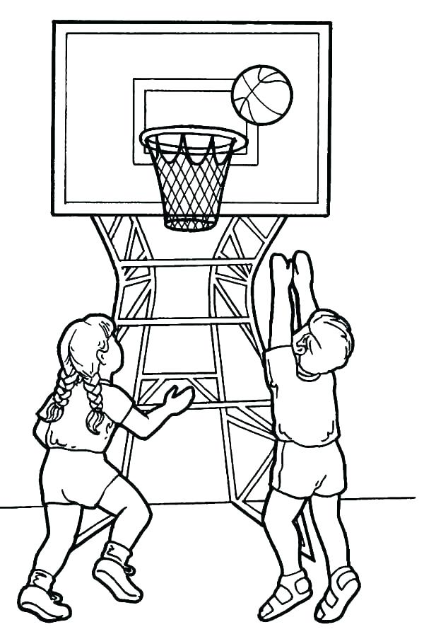 600x903 Basketball Coloring Pages Basketball Coloring Pages Basketball