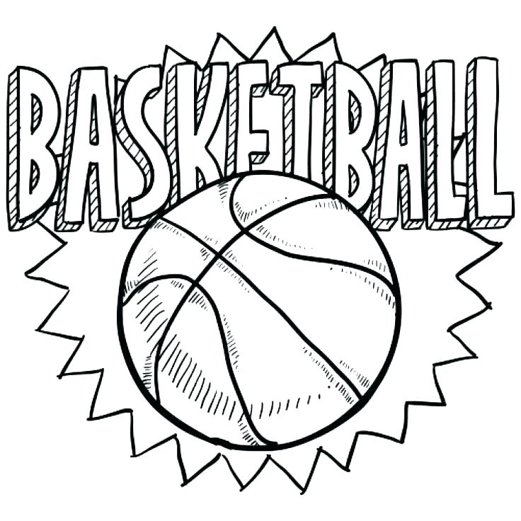 736x736 Basketball Net Coloring Page Basketball Net Basketball Backboard
