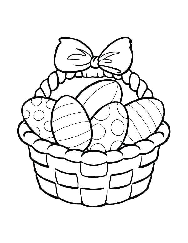 600x776 Coloring Basket Basket Coloring Page Empty Basket Coloring Pages