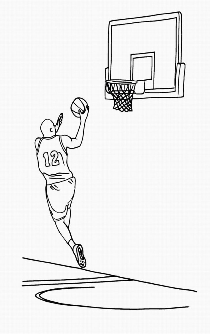 728x1160 Basketball Coloring Pages Sheets Nba East Denver Nuggets Minnesota