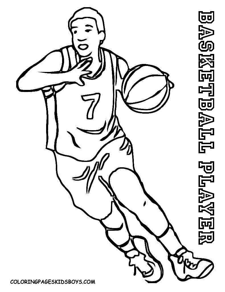 790x1023 Basketball Goal Coloring Sheet Coloring Sheets