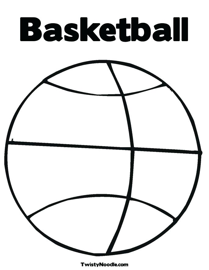 685x886 Basketball Goal Drawing At Free For Personal Use Basketball Hoop