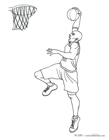 364x470 Basketball Hoop Coloring Page Basketball Court Coloring Page Pin