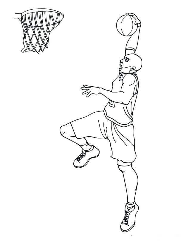 634x820 Free Printable March Madness Coloring Pages