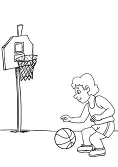 236x334 Awesome Basketball Coloring Pages Printable Pictures Best For Kids