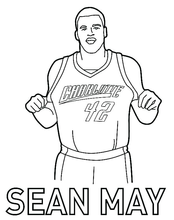 600x760 Basketball Player Coloring Page Girl Basketball Player Coloring