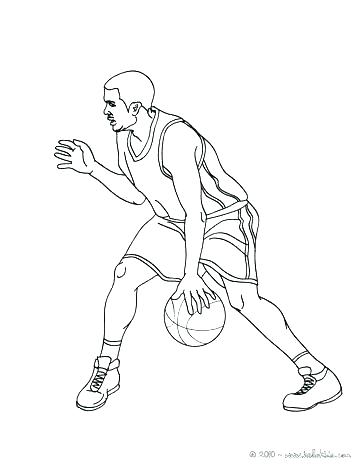 364x470 Basketball Player Coloring Page Tallest Woman Basketball Player