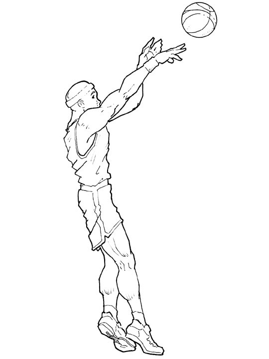 540x720 Images Of Play Basketball Coloring Page