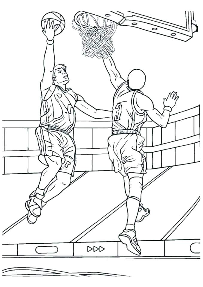 679x960 Basketball Color Pages Coloring Pages Of Basketball Basketball