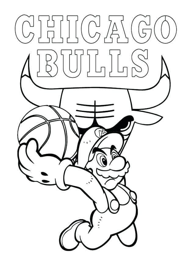 600x849 Coloring Pages Nba Basketball Team Coloring Pages Pictures
