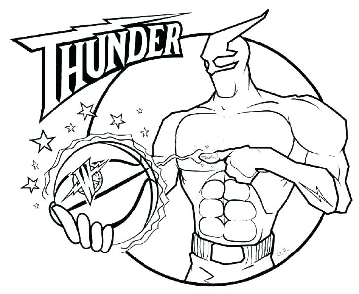728x595 Nba Logos Coloring Pages Basketball Coloring Pictures Logos