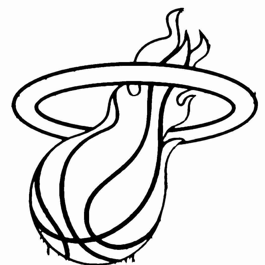 1050x1050 Basketball Team Logo Coloring Pages Page Lively Nba Logos Olegratiy