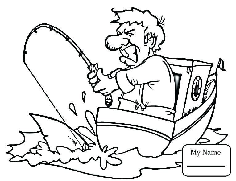 765x587 Fishing Boat Coloring Pages Fishing Boat Coloring Pages Activities