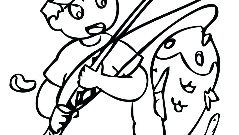 960x544 Bass Coloring Pages Fish Bass Boat Coloring Pages