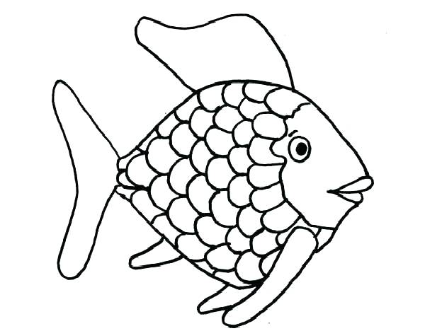 600x468 Fishing Coloring Pages Printable Bass Fish Coloring Pages Adult