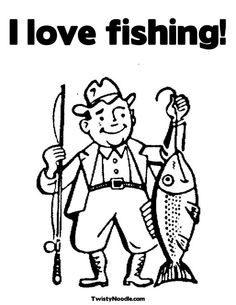 236x305 Top Fishing Coloring Pages