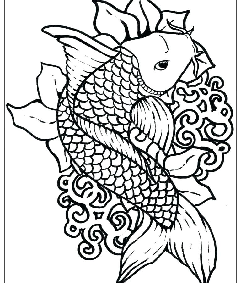 768x900 Bass Coloring Pages Bass Fish Coloring Pages Best Free Printable