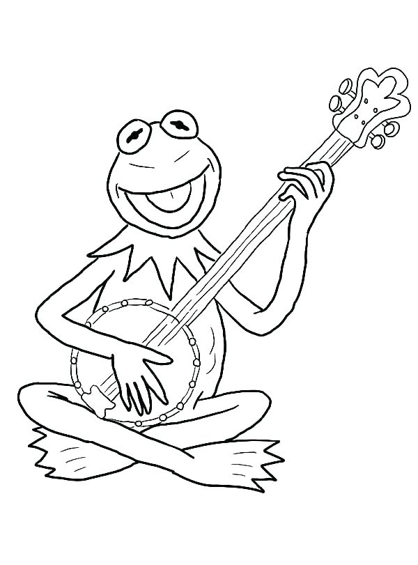 600x811 Guitar Coloring Pages Electric Guitar Coloring Pages Guitar