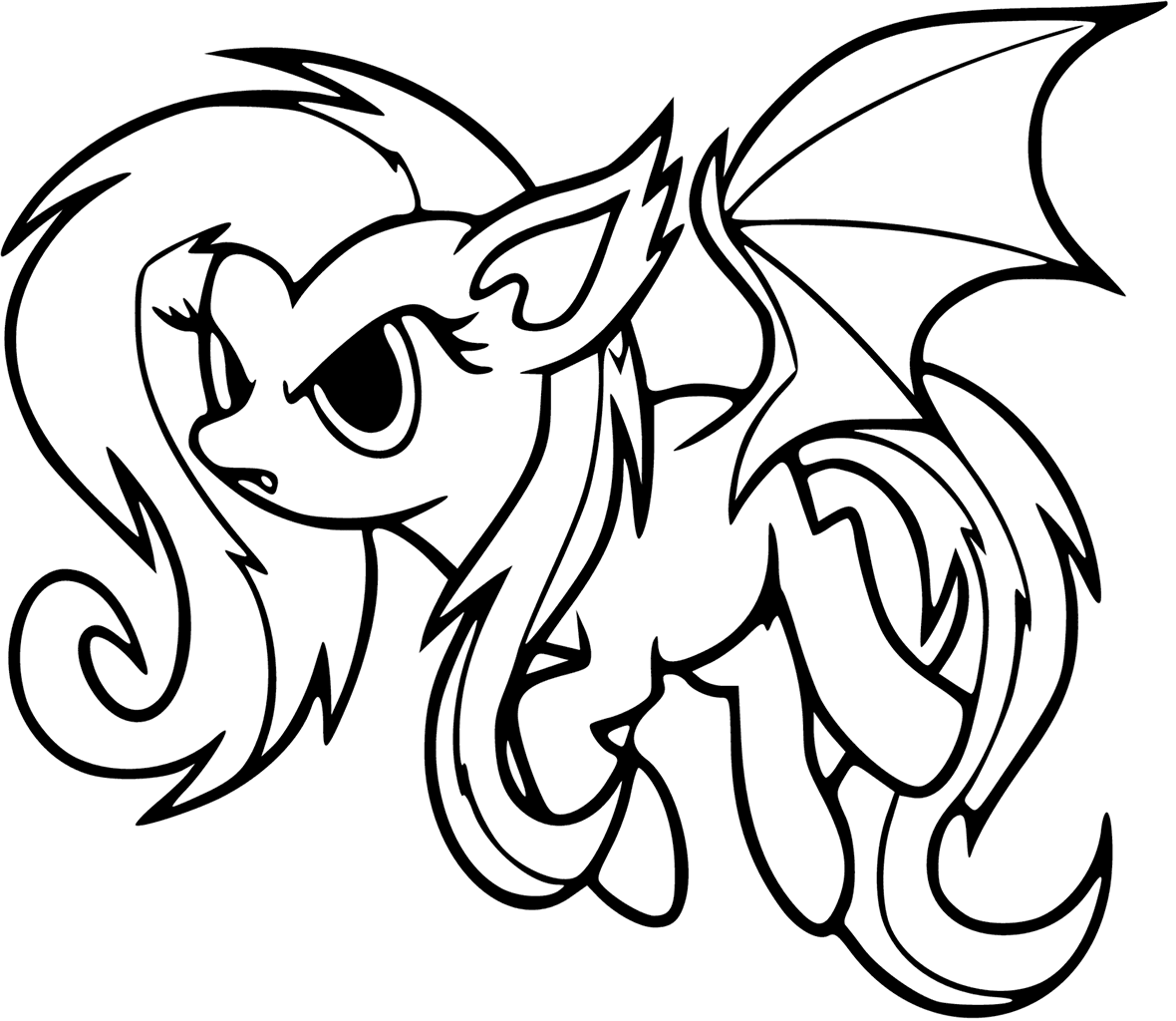 1180x1024 My Little Pony Coloring Pages Bat