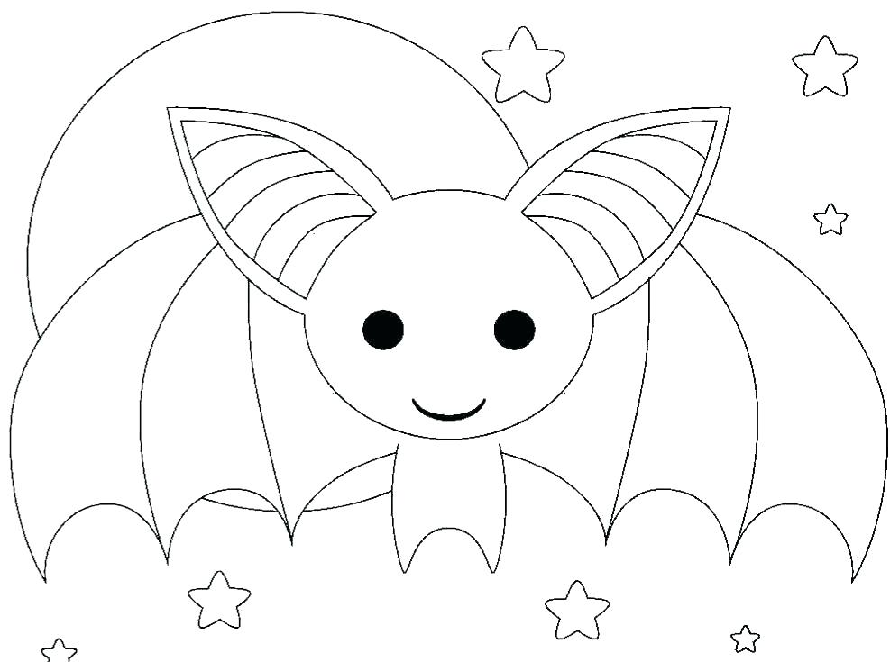 987x735 Bats Coloring Pages