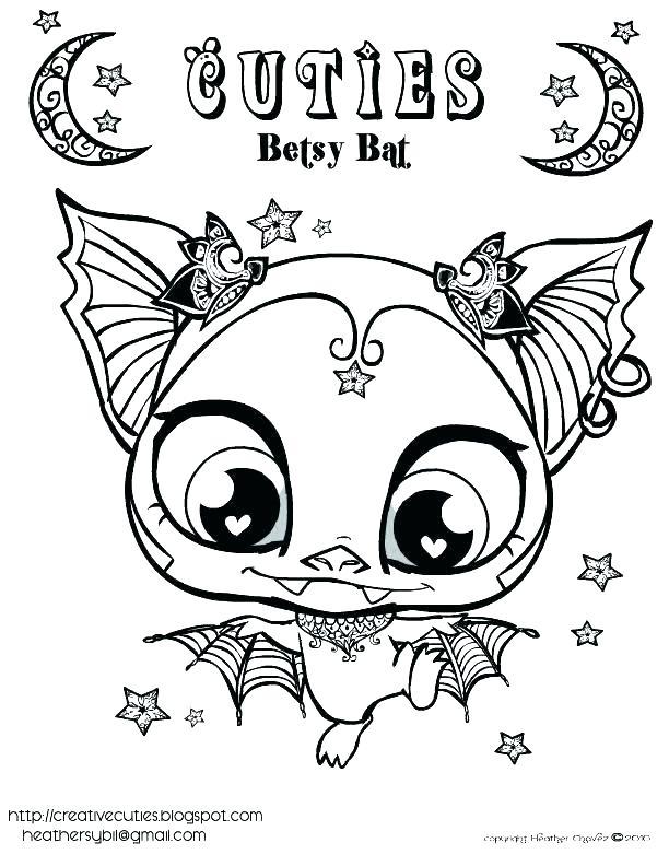 612x792 Bats Coloring